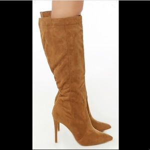 Shoes - Knee- High Stiletto Boots